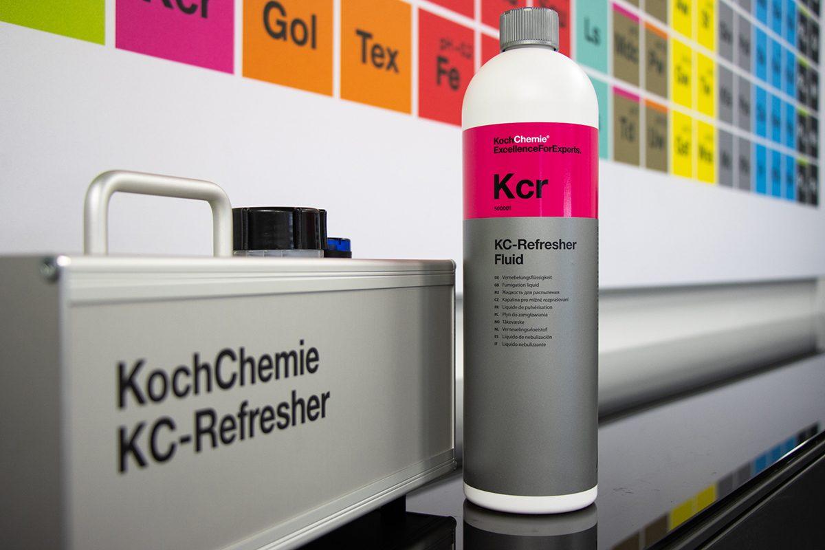 Desinfisering av kjøretøy med KC-Refresher